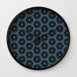 Conceptual skin cells micro texture pattern Wall Clock