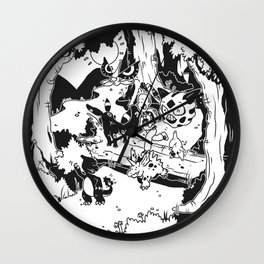 Pokelife Wall Clock