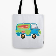 Mystery of the Lost Parts Tote Bag