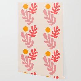 Henri Matisse - Leaves - Blush Wallpaper