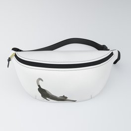 I Love Cats No.1 by Kathy Morton Stanion Fanny Pack
