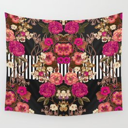 Floral Crossing Wall Tapestry