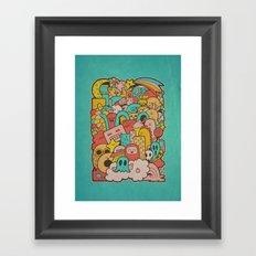 Doodleicious Framed Art Print