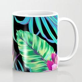 Drive You Mad Hibiscus Pattern Coffee Mug