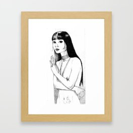Vialle Framed Art Print