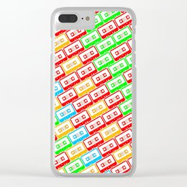 Mix-taped Clear iPhone Case