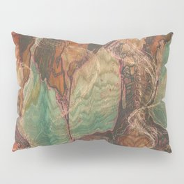 Ecstatic Pelvis (Meat Flame) Pillow Sham