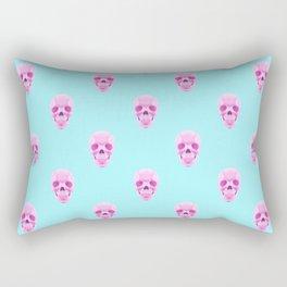 Candy Skulls Pattern Rectangular Pillow