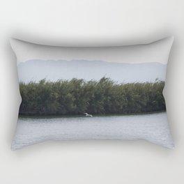 Landscape Photography - River - Mountains Rectangular Pillow
