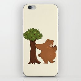 Bear and Madrono iPhone Skin