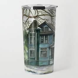 The House Under the Big Tree Travel Mug