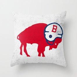 HARD HEADED Throw Pillow