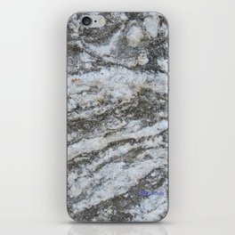 TEXTURES -- Riverstone #1 iPhone Skin