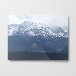 High Tatras mountains Metal Print