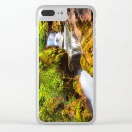 Swiss rapids. Clear iPhone Case
