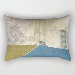 atmosphere 7 · End of the night Rectangular Pillow