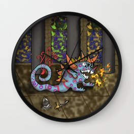 The Doodlethwumpus Wall Clock