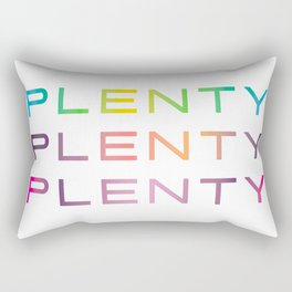 Plenty #lotstolove #plussize #curvey Rectangular Pillow