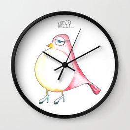 Meep Wall Clock
