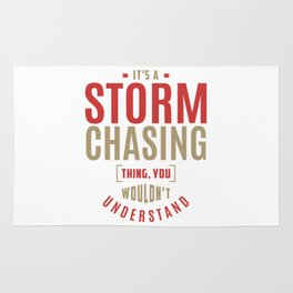Storm Chasing Thing Rug