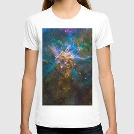 Mystic Mountain Nebula, Galaxy Background, Universe Large Print, Space Wall Art Decor, Deep Space T-shirt
