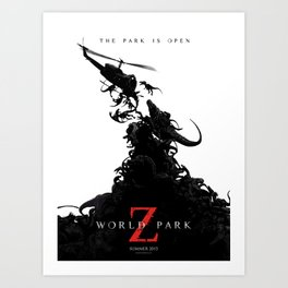 World Park Z Art Print