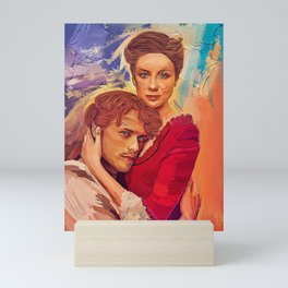 Outlander - Jamie and Claire Mini Art Print