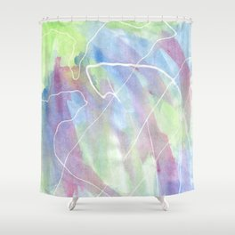 Tidal Shower Curtain