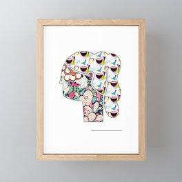 The Art Of Charm Framed Mini Art Print
