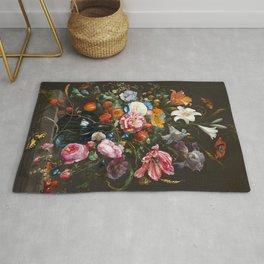 Vase of Flowers - de Heem Rug