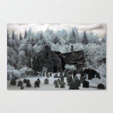 Abandoned Lot  Canvas Print