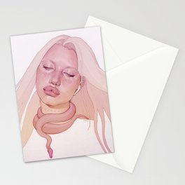 pacify her Stationery Cards