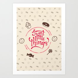Sweet Little Things Art Print