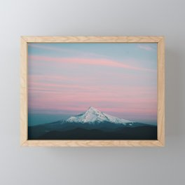 Mount Hood III Framed Mini Art Print