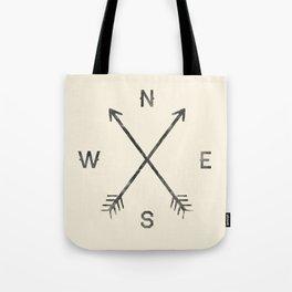 Compass (Natural) Tote Bag