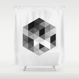 Geo Hex 02. Shower Curtain