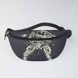 Baseball player on Space Fanny Pack