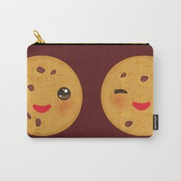 Kawaii Chocolate chip cookie Carry-All Pouch