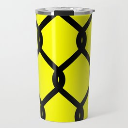 Chain-Link Fence (from Design Machine archives) Travel Mug