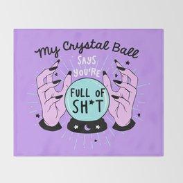 The Crystal Ball Throw Blanket