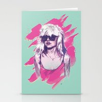 blondie Stationery Cards featuring Blondie by Dave Merrell