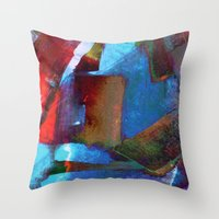 architect Throw Pillows featuring Architect Heart by SuzyQ