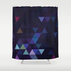 Simple Sky - Midnight Shower Curtain