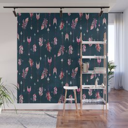 Boho Arrows Wall Mural