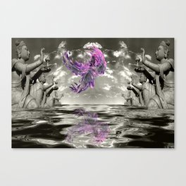 view from the Temple Canvas Print