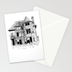cabin fever Stationery Cards