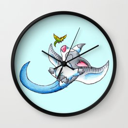 Keet Costume (Blue) Wall Clock