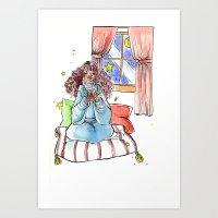 Wizard Cocoa Art Print