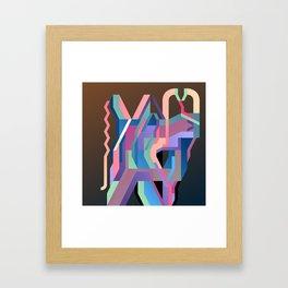 Maskine 6 Framed Art Print