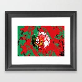football Portugal  Framed Art Print